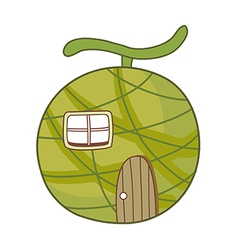Fruit home vector