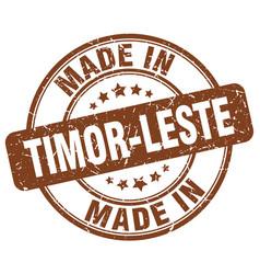 made in timor-leste vector image
