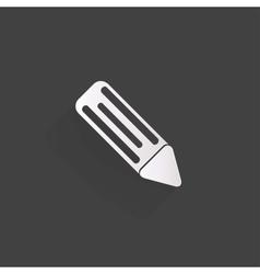 Pencil web icon vector image