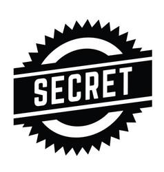 Secret stamp on white vector
