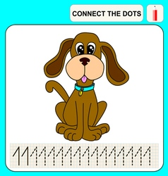 0915 2 connect the dots v vector image