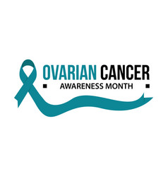 awareness month ribbon cancer vector image