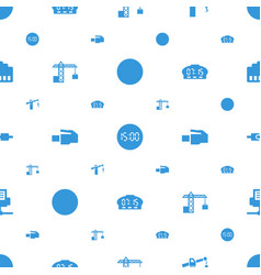 Cable icons pattern seamless white background vector