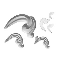 carved decor 4 vector image