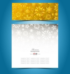 Christmas decorative background template vector
