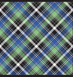 Fabric texture tartan abstract seamless pattern vector