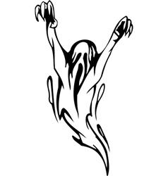 ghost - halloween set vector image