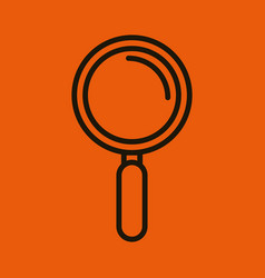 Icon search look seek social network design vector
