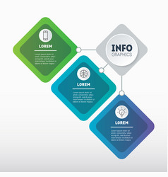 sector infographics technology or education vector image