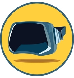 Virtual reality glasses vector