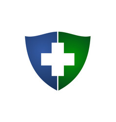 health shield insurance vector image