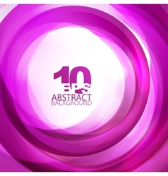 violet abstract swirl background vector image vector image