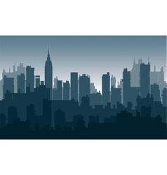 Nightly city3 vector image vector image