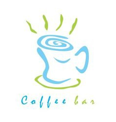 Coffee bar sign vector image vector image