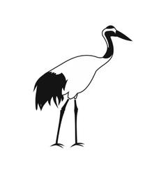 Crane icon simple style vector image