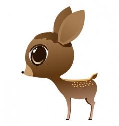Baby deer vector