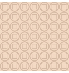 Circles squares wallpaper background design vector