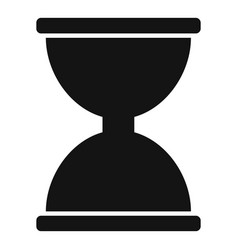 cursor click loading icon simple black style vector image