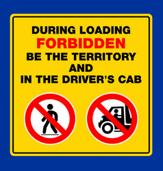 Do not stay in the territory pedestrians people vector
