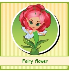 Fairy flower - hand-drawn vector