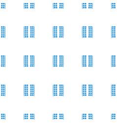 Plane seats icon pattern seamless white background vector