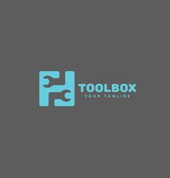 Toolbox logo vector