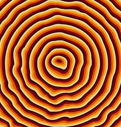Growth rings vector image vector image