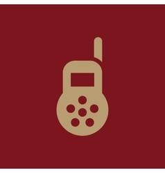 Baby monitor icon design Radio Baby monitor vector