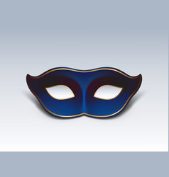 blue face mask realistic vector image