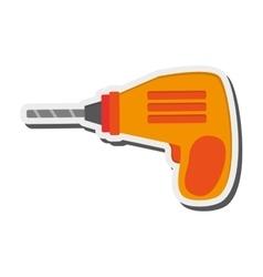 hand drill icon vector image