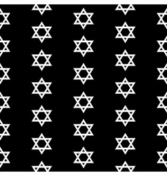 Magen David seamless pattern vector