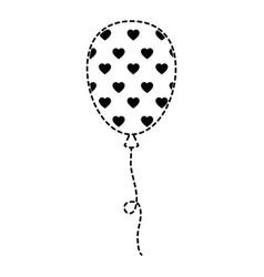 balloon air party decoration vector image