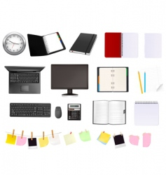 super mega set business vector image