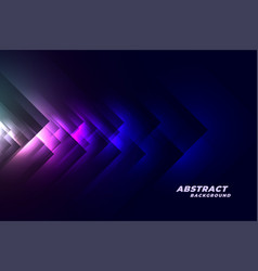 abstract blue dark tech style background vector image