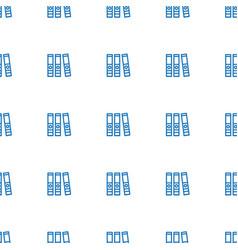 binder icon pattern seamless white background vector image