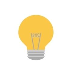 bulb light idea creativity vector image