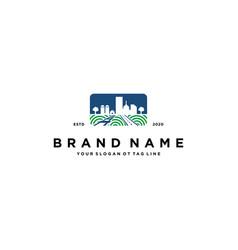 City green logo design vector