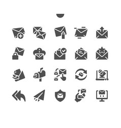 Email well-crafted pixel perfect vector