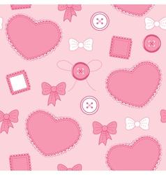 Heart pink vector