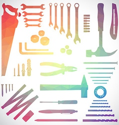 Polygon tools vector image