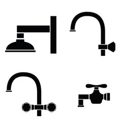 tap icon set vector image