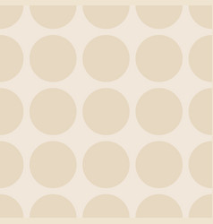 tile pattern with dots on pastel background vector image