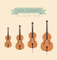 violinfamily vector image