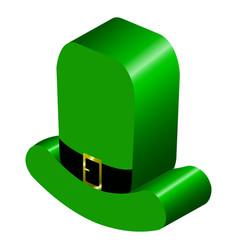 3d model of an irish hat vector