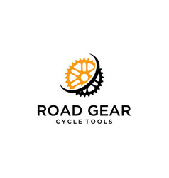 abstract gear vector image