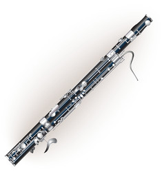 Classical bassoon vector