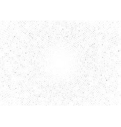 gray geometric circle abstract on white vector image