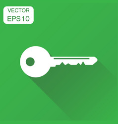 key icon business concept unlock symbol pictogram vector image