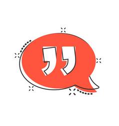 Speak chat icon in comic style speech bubble vector