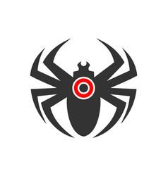 Spider logo icon vector